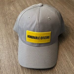 NEW gray adjustable baseball hat cap